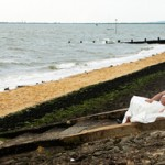 Jo makes a splash at Rachael & Ricky's Wedding at The Cliffs Pavilion, Westcliff