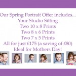 A chance to Win £1000 with our Spring Portrait Offer!!!