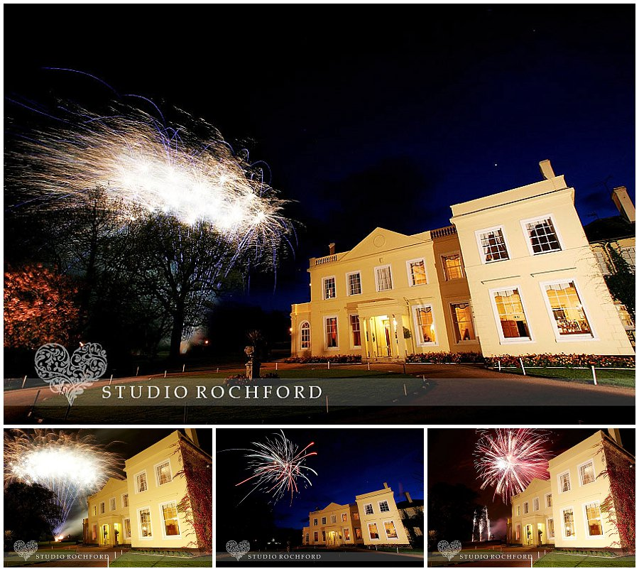 Fireworks at the Lawn Essex Wedding Photography