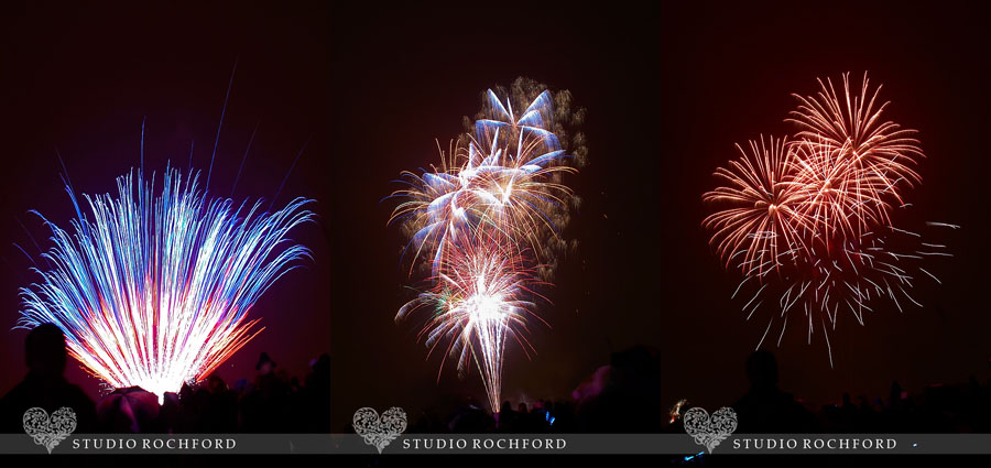 Fireworks at Essex Wedding Photography