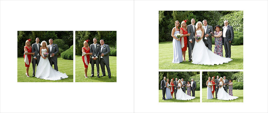 Wedding groups at Creeksea Essex