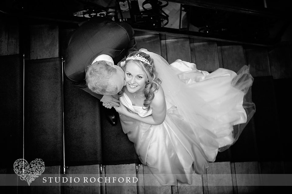 Lawn Rochford Wedding Bride & Groom