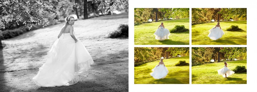 Bride at Braxted
