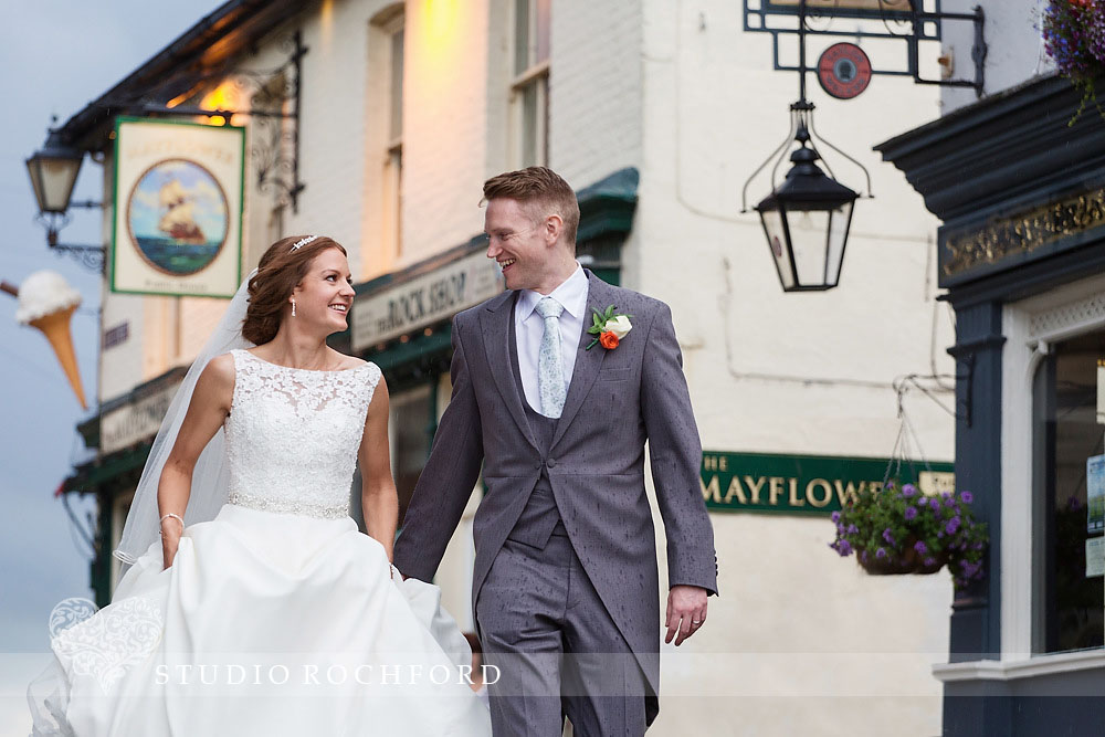 Boatyard Leigh on Sea Essex Wedding Photography