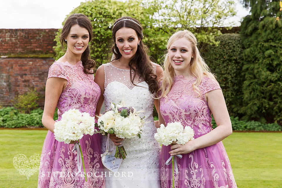 Gaynes Park Epping Wedding Bridesmaids