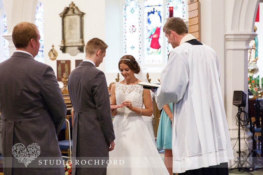 Essex wedding photographer at St Clements Leigh on Sea