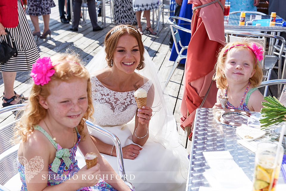 cole and son ice cream bride