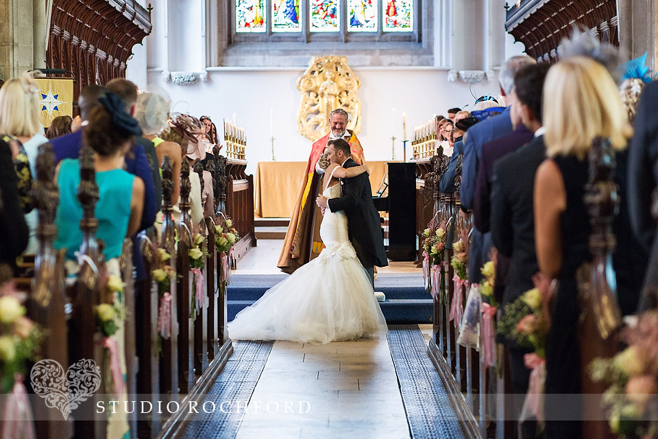 The Great St Mary's Church and Trinity Hall Wedding