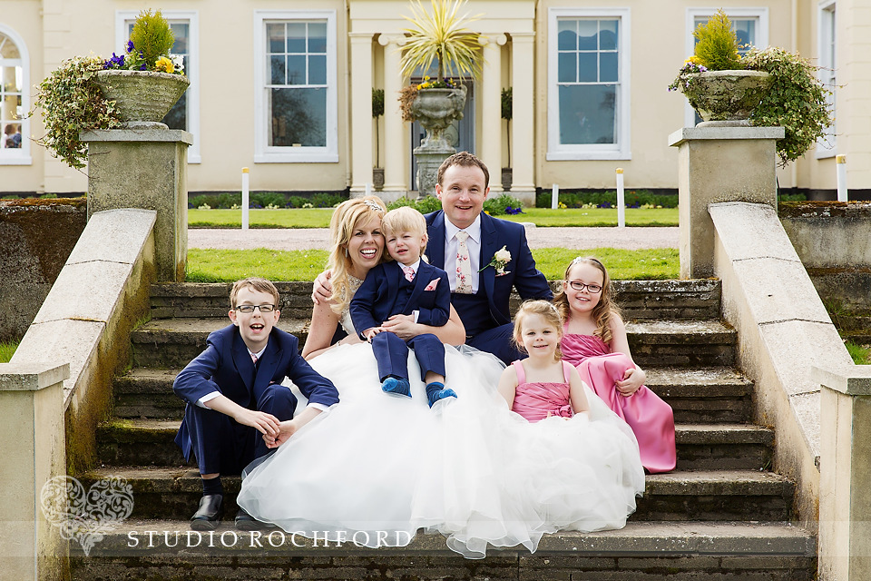 Lawn Rochford Wedding Family group