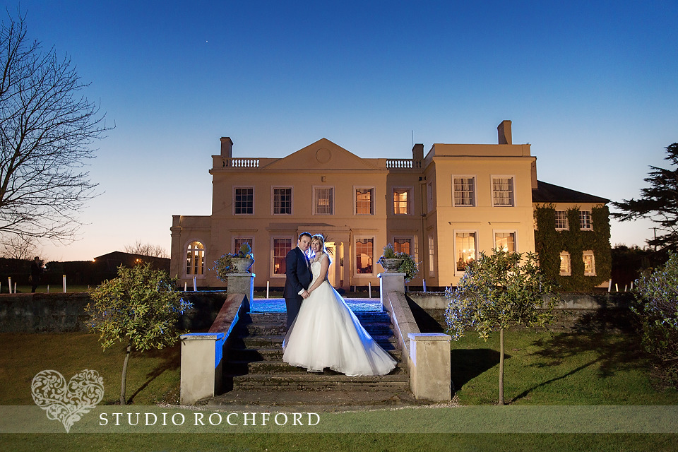 Evening at The Lawn Rochford wedding